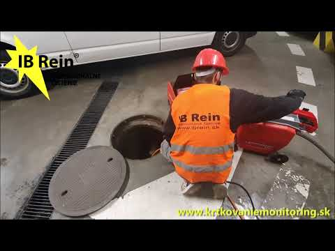 Krtkovanie a monitoring potrubí a kanalizačných sietí