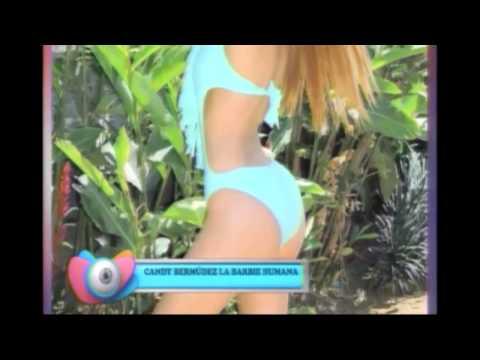 La modelo Candy Bermudez realizó una sesión de fotos en traje de baño