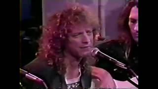 Foreigner Dirty White Boy acoustic 1992