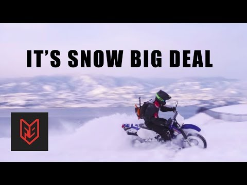 How to Ride a Motorcycle in the Snow