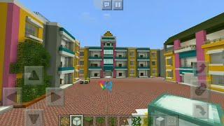 Taarak Mehta Ka Ooltah Chashmah Set Gokuldham Society in Minecraft (Part - 1) Only Exterior