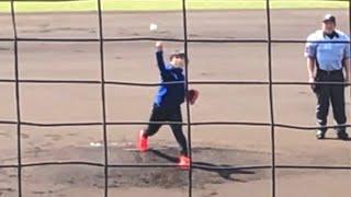 スピードスケート高木美帆ノーバウンドの見事な始球式2018年4月1日平塚球場
