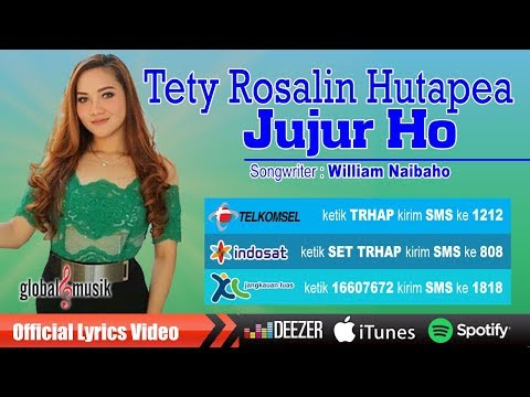 Tety Rosalin Hutapea - Jujur Ho (Official Lyric Video)