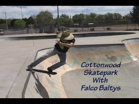 Cottonwood Skatepark With Falco Baltys