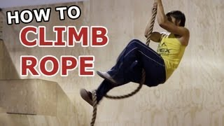 How To - Rope Climbing TUTORIAL