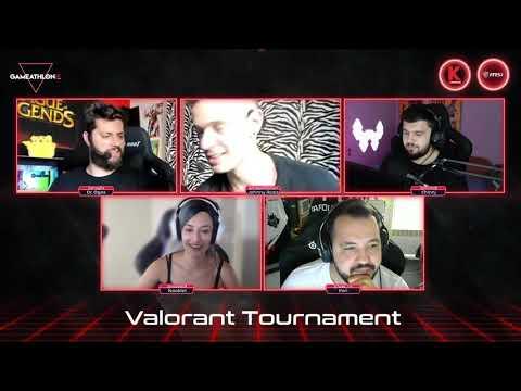 Gameathlon Online July 2020 - Valorant 5v5 Casters PreShow