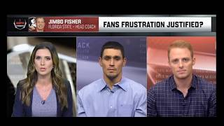Pollack & McElroy Discuss Jimbo Fisher's Frustration