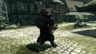Most Useless Skyrim Mod Ever (Bear W/ Lute)