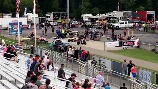 Reaper vs the fireball camaro us 131 motorsports park Michigan 6-30-17
