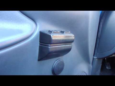 снятие дверной карты сенс с электроподьемниками
