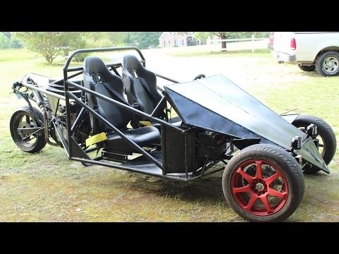 Homemade Reverse Trike, Raw Motor Sound - MechanicalAttraction - Video - Dangdutan.me