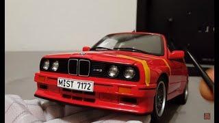 Легендарная BMW - модель BMW M3 E30 от AUTOart