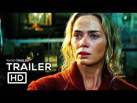 A QUIET PLACE Official Trailer #2 (2018) Emily Blunt, John Krasinski Horror Movie HD