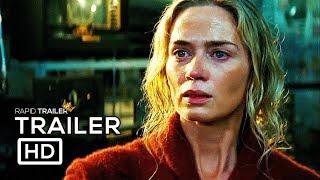A QUIET PLACE Official Trailer #2 (2018) Emily Blunt, John Krasinski Horror Movie HD - Video Youtube