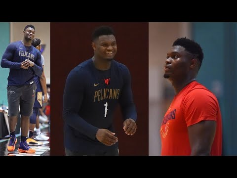 ZION IS BACK!Zion Williamson Best Moments In Bubble(Dunks, 3pt, Handles) – NBA Scrimmage Highlights!