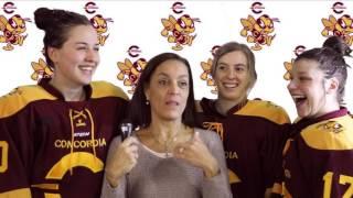 Concordia University Hockey Girls MMHM 2017