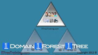 MCITP 70-640: Active Directory forest and trees