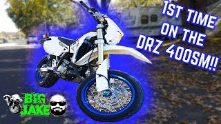 How to Wheelie a DRZ400SM / Supermoto - For Beginners - Most