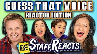 GUESS THAT REACTOR'S VOICE CHALLENGE! (ft. FBE STAFF)
