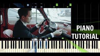 Slza - Holomraz - Piano Cover / Tutorial - Synthesia