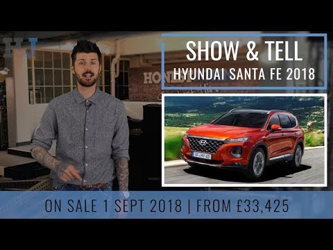 Show & Tell | Car News | New Hyundai Santa Fe 2018