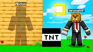 DESTROYING My Friends House In Camp Minecraft | JeromeASF