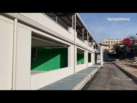 Nel cantiere dell'ospedale del Ponte di Varese, per osservare gli ultimi lavori