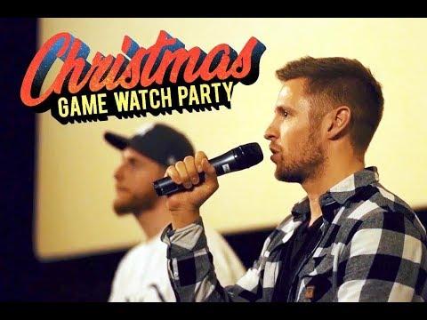 NBA Basketball Live im Kino!! - 160 Fans bei der Watch Party (feat. C-Bas) - Kobe Bjoern