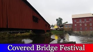 Road Trip To The Covered Bridge Festival