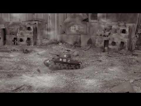Heng Long 1/16th Sherman Tank Battlefield Old Film Look