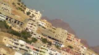 preview picture of video '(980)The Mountain of Aaron (Jabal Haroun) and town of Wadi Musa with BGM'