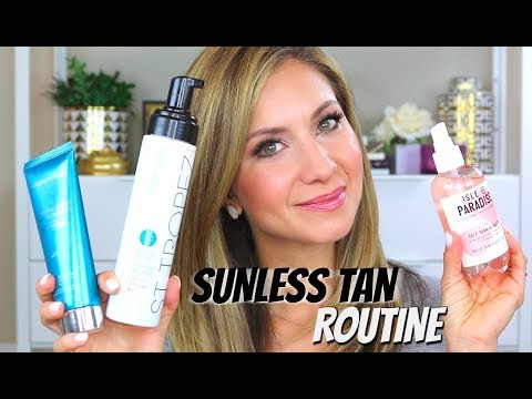 video thumbnail Sunless Tan and Body Sun Protection Daily Routine | Lisa J Makeup