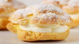 Cream Puffs Recipe Demonstration – Joyofbaking.com