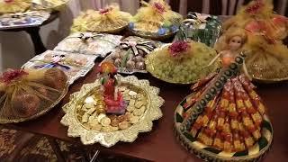 RB3 Creations Wedding Seer Varisai Thattu Decoration In Chennai At GRT Grand Hotel 7401241066