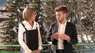 WEF Davos 2015 Hub Culture Interview Zach Sims of Codecademy
