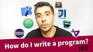 How do I write a program?