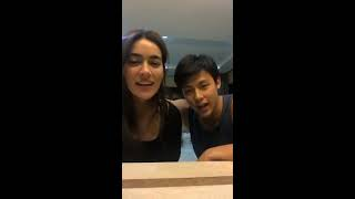 [24.09.2017] (IG Live) Kimmy Kimberley & Mark Prin - Thanks Fans (Sold out) clothes