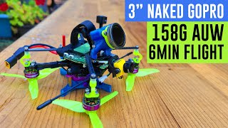 """Umma3"" 3inch Cinematic FPV GoPro quad - 158g AUW - 6min flight"