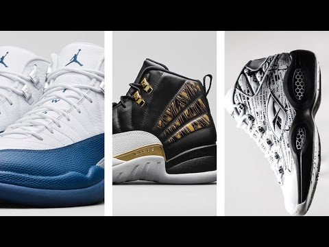 "Air JORDAN 12 ""French Blue"", Curry 2 ""Bay Area"", Reebok Question and more on Heat Check"