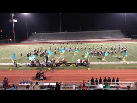 Santa Ana Marching Saints at Lister oaks tournament 11/5/16