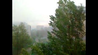 дождь в Астане / rain in Astana