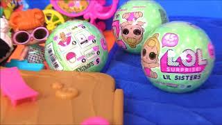 Куклы Лол #LoL Surprise Сюрпризы ЛОЛ #Видео для девочек! Мультик с игрушками! ЛОЛ Сестрёнки