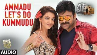Ammadu Lets Do Kummudu Full Song  Khaidi No 150  Chiranjeevi Kajal  Rockstar DSP  V V Vinayak