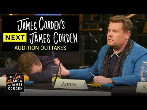 Audition Outtakes: James Corden's Next James Corden