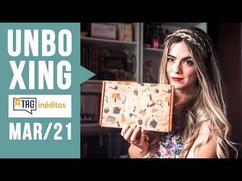 Unboxing TAG INÉDITOS | Edição MARÇO 2021