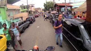 Meeting Of Favela (MOF) 2013. Recorrido (parte 1).