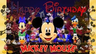 Happy 90th Birthday, Mickey Mouse!