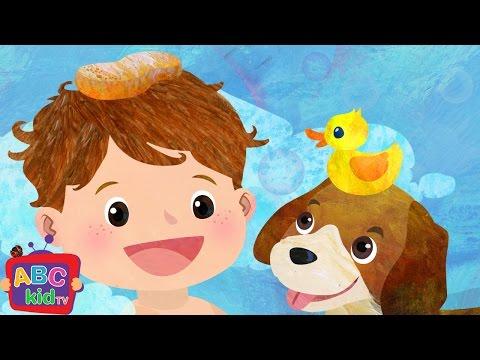 Bath Song (2D) | CoCoMelon Nursery Rhymes & Kids Songs