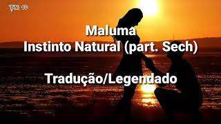 Maluma   Instinto Natural (part. Sech)   TraduçãoLegendado