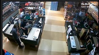 "Security camera footage of ""Beavis and Butthead Bandits"" from Summit Store in Los Altos"